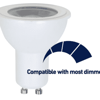 FLGU10CD - FLGU10WD - dimmable GU10 LED downlight